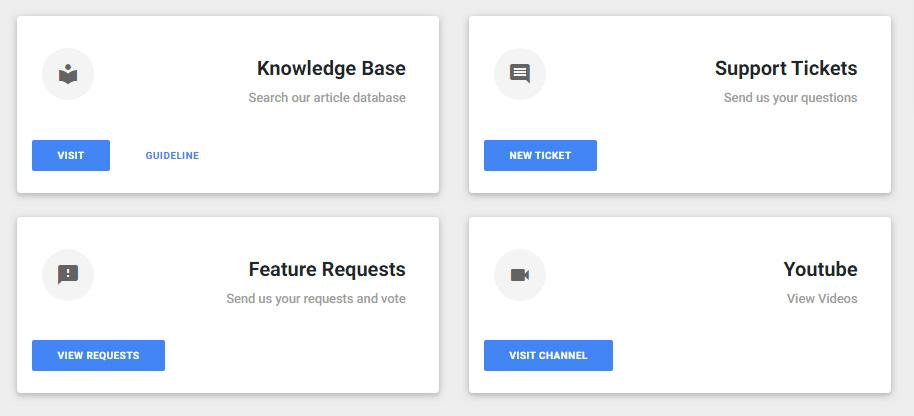 Create and upvote your feature requests for SiteManager