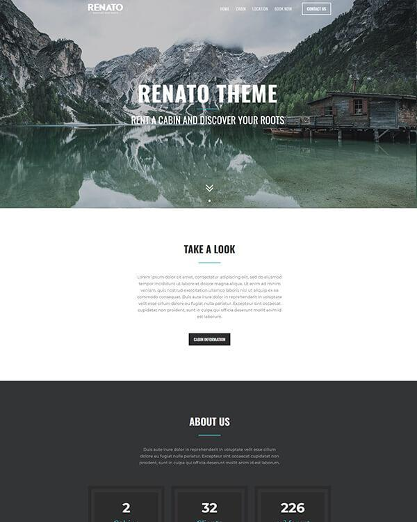 SiteManager Themes - Renato